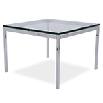 florence knoll square coffee table  -