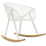 kobi rocking chair - Patrick Norguet - Alias