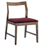 krusin side chair with slat back  -