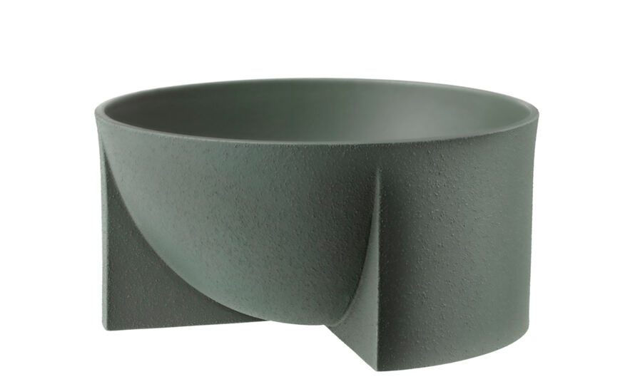 kuru low ceramic bowl