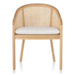 landmark chair with cane  - Herman Miller