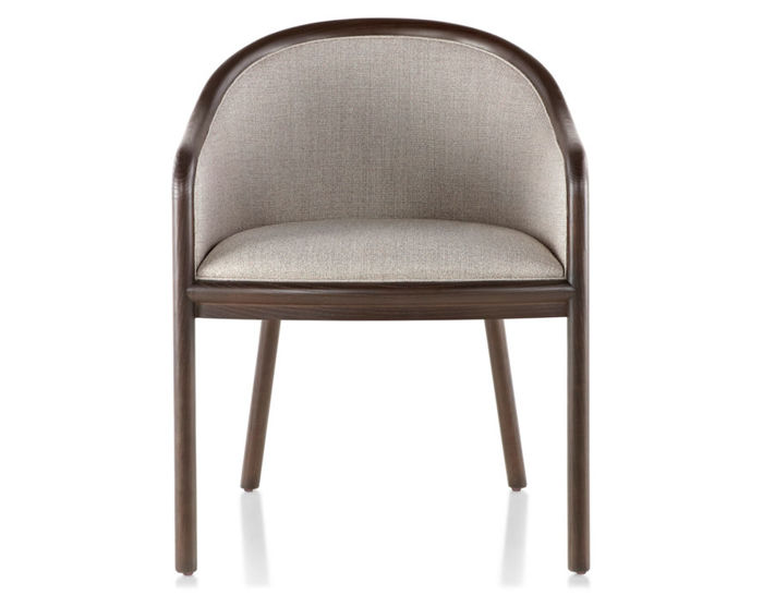 landmark chair with upholstery
