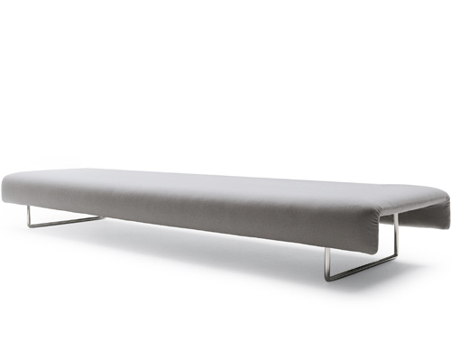 large cloud bench with no back
