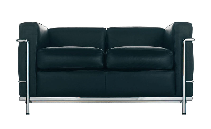 Le Corbusier Lc2 Two Seat Sofa