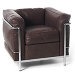 le corbusier lc2 armchair - Corbusier - cassina