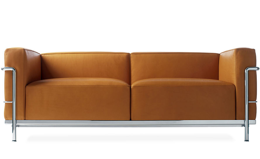 le corbusier lc3 two seat sofa
