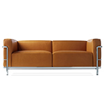 le corbusier lc3 two seat sofa  -
