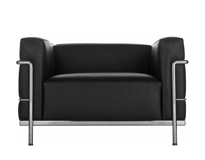 Le Corbusier Lc3 Armchair With Down Cushions Hivemodern Com