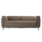 le corbusier lc3 outdoor two seat sofa - Corbusier - cassina