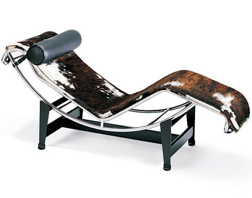 Le corbusier lc4 for Chaise longue basculante