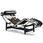 le corbusier lc4 chaise lounge  -
