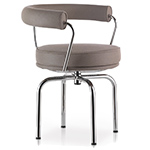 le corbusier lc7 outdoor swivel chair - Corbusier - cassina