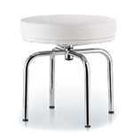 le corbusier lc8 outdoor stool - Corbusier - cassina