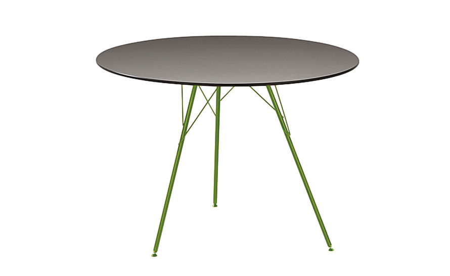 Round Table With Leaf Part - 40: Leaf Round Dining Table
