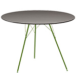 leaf round dining table