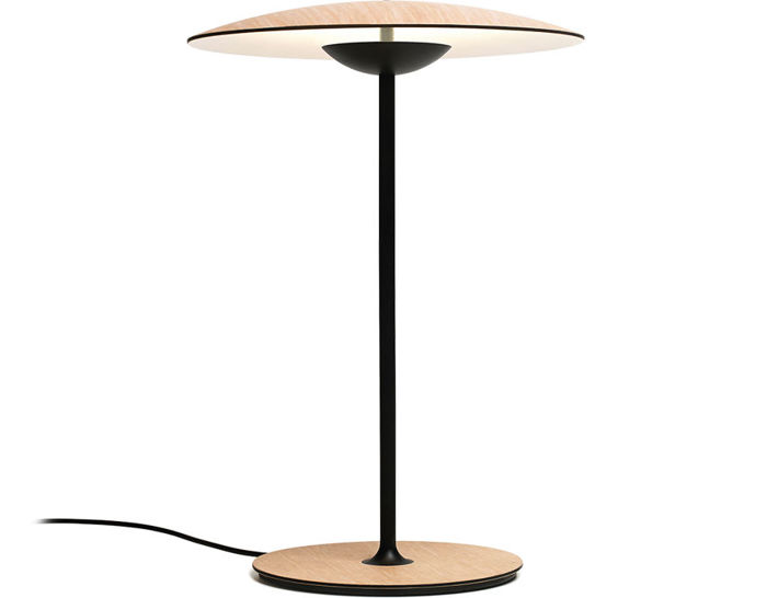 led-ginger table lamp