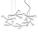led net circle suspension lamp  - Artemide