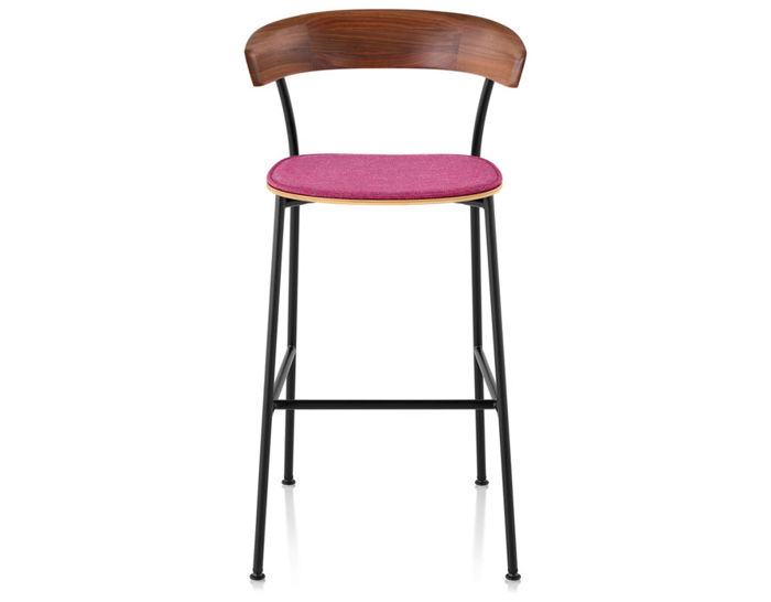 leeway™ stool with upholstered seat