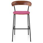 leeway™ stool with upholstered seat  -