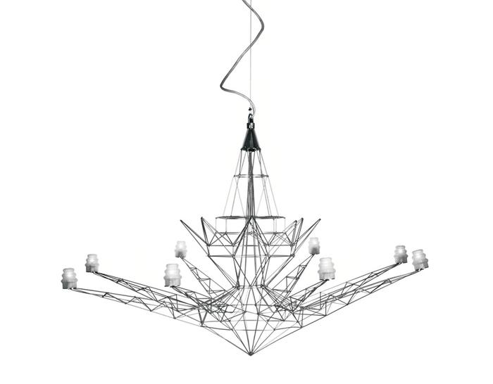 lightweight suspension lamp. Black Bedroom Furniture Sets. Home Design Ideas
