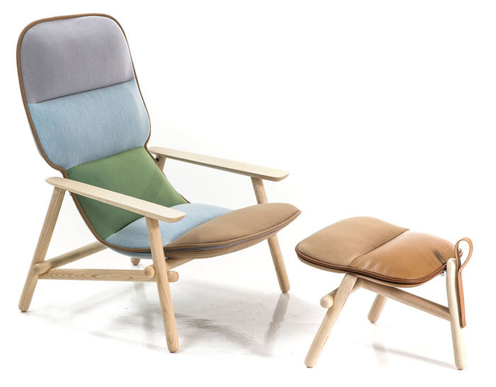 lilo lounge chair & ottoman