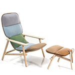 lilo lounge chair & ottoman  -