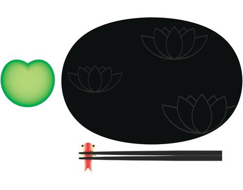 lily pond sushi set