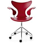 lily swivel armchair - Arne Jacobsen - Fritz Hansen