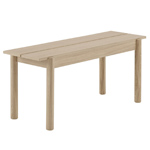linear wood bench  -