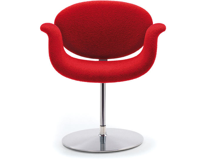 pierre paulin little tulip chair with disc base