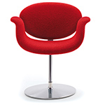 little tulip chair with disc base  -