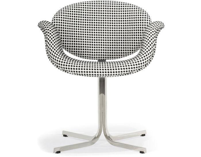pierre paulin little tulip chair with cross base