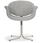pierre paulin little tulip chair with cross base  -