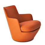 lo turn lounge chair - Niels Bendtsen - bensen