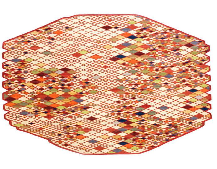 losanges rug