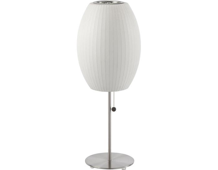 Nelson lotus table lamp cigar hivemodern nelson lotus table lamp cigar aloadofball Gallery