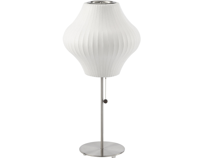 nelson™ lotus table lamp pear