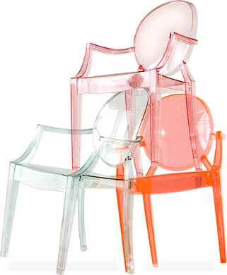 Incroyable Lou Lou Ghost Childu0027s Chair
