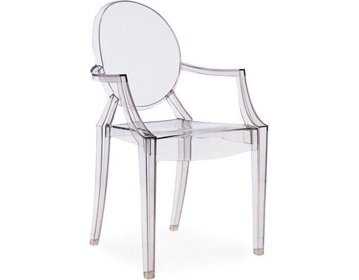 louis ghost chair 2 pack