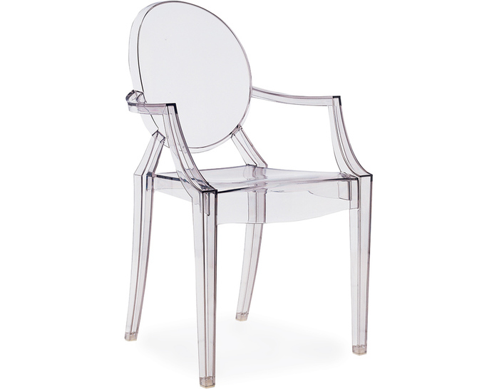 Stacking Philippe Starck Style Chair Plastic Material Designer China Mainland