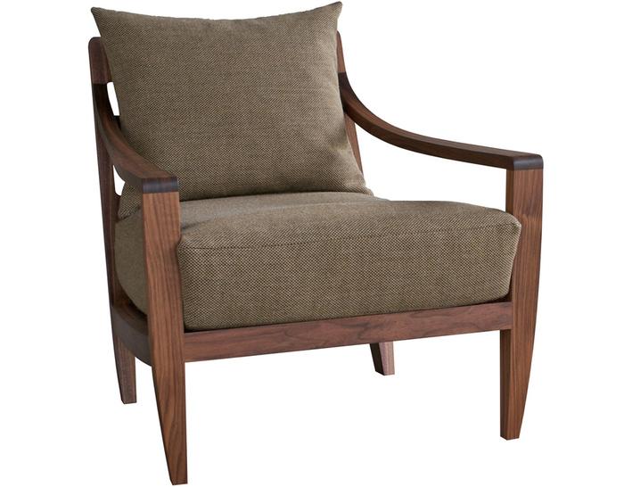 Low Lounge Chair 340. By Matthew Hilton, From De La Espada