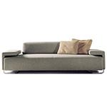 lowland 3 seater sofa - Patricia Urquiola - Moroso