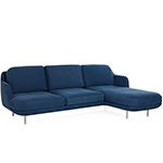 lune 3 seat sofa with chaise  -