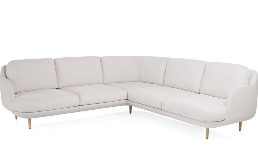 lune 5 seat sofa with corner