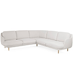 lune 5 seat sofa with corner  -