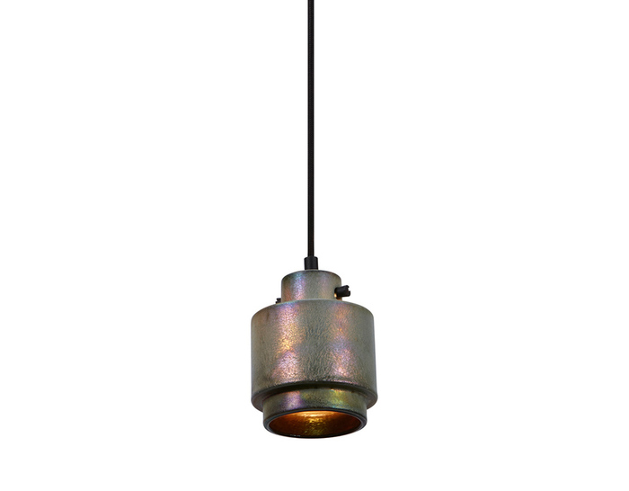 lustre round pendant light