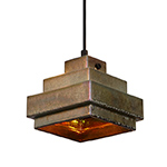 lustre square pendant light  -