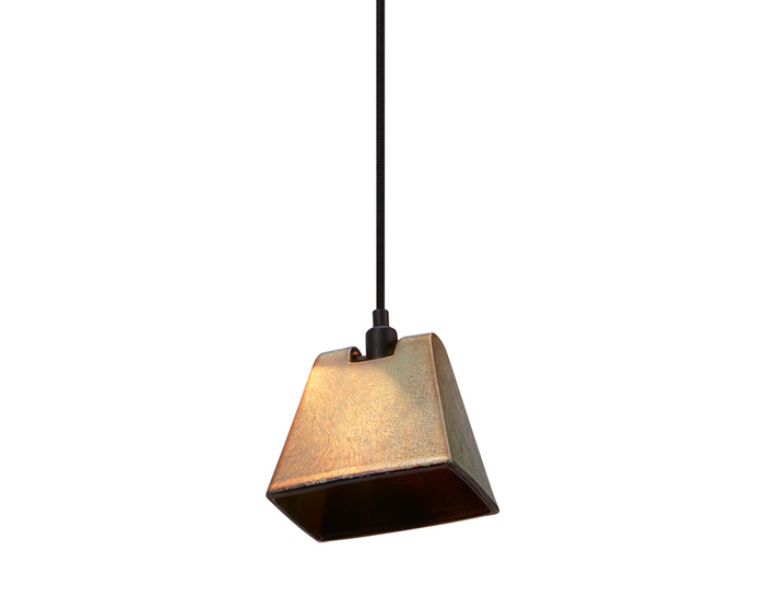lustre wedge pendant light