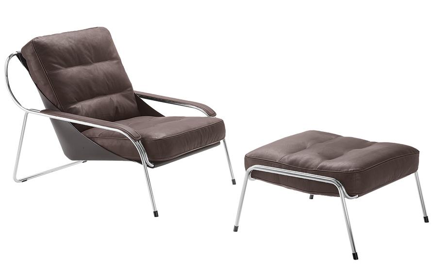 maggiolina lounge chair & ottoman