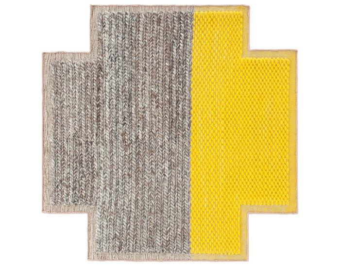mangas space square plait rug